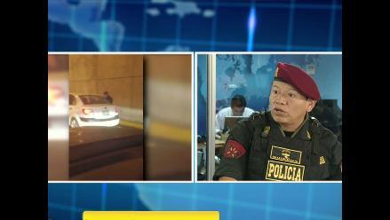 Policía investiga a posibles autores del ´bujiazo´ en Javier Prado