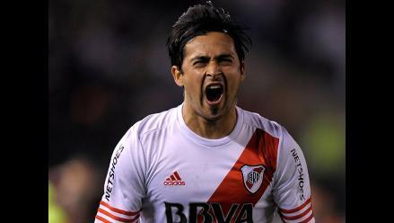 River Plate vs. Boca Juniors: Pisculichi anotó el 1-0 por Sudamericana