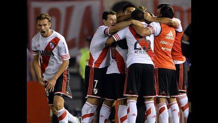 Así celebró River Plate el pase a la final de Sudamericana ante Boca Juniors
