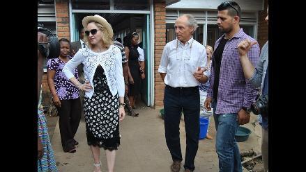 Madonna abrió hospital infantil en Malawi
