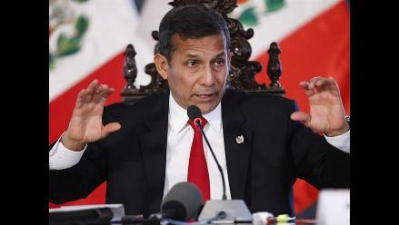 Humala negó que Oswaldo Zapata le haya presentado a López Meneses