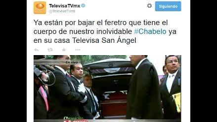 Chespirito: Televisa ´mata´ a Chabelo en Twitter