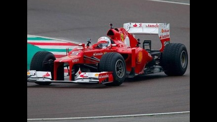 Fórmula 1: Sebastian Vettel se sube por primera vez a un Ferrari