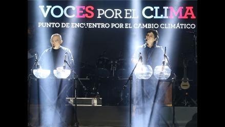 Lucho Quequezana presentó el himno de la COP 20