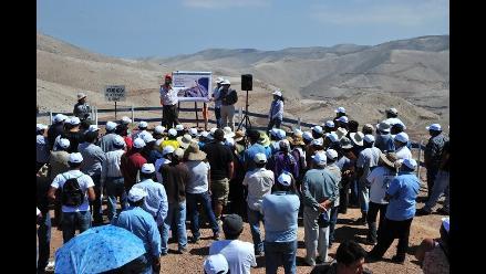 Arequipa: se inician trabajos de pre-mina de Tía María