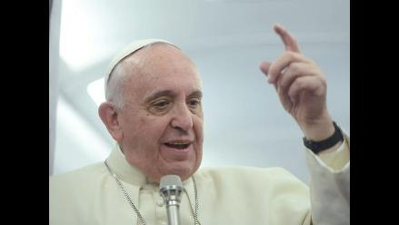 El papa y líderes religiosos firman acuerdo contra la esclavitud