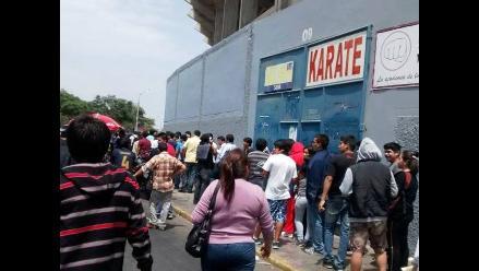 Trujillo: malestar en hinchas por suspensión de partido Alianza-Cristal