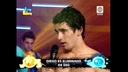 EEG: Diego Rodríguez fue eliminado del programa