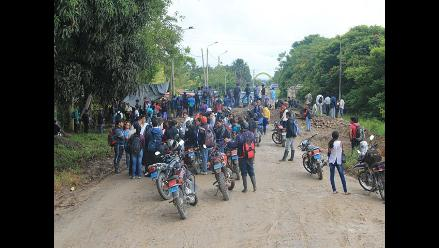 Moyobamba: ronderos mantendrán medida de protesta en Soritor