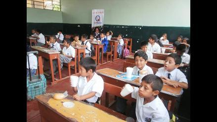 Lambayeque: 50 mil niños se quedan sin recibir sus desayunos de Qali Warma