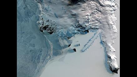 Derretimiento de glaciares se triplicó en una zona de la Antártida