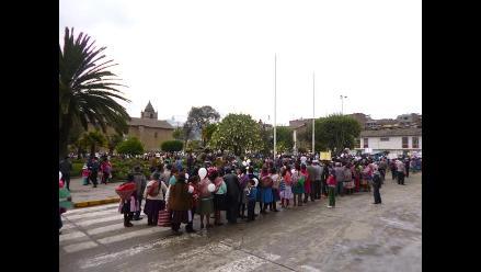 Andahuaylas: realizan cierre de campaña electoral