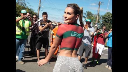Miss Bum Bum que recibió a Cristiano Ronaldo en Brasil 2014 está grave