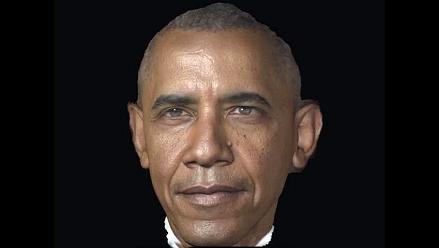 YouTube: Mira cómo se hizo el retrato 3D de Barack Obama