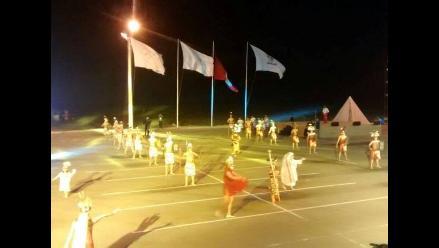 Con gran espectáculo inauguran Juegos Bolivarianos de Playa