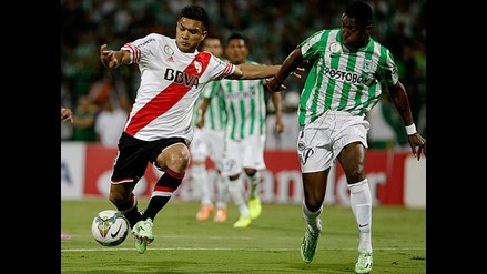 Atlético Nacional empató 1-1 ante River Plate en final de la Sudamericana