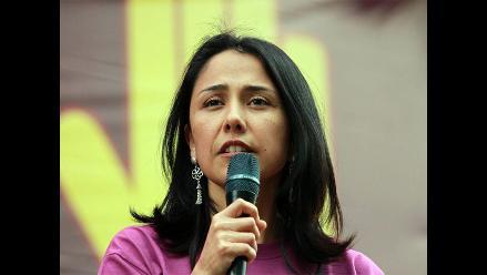 Nadine Heredia criticó prescripción de delitos en caso Petroaudios