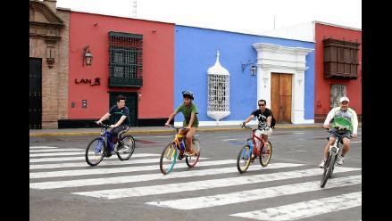 Trujillo: promueven a bicicleta como transporte amigable