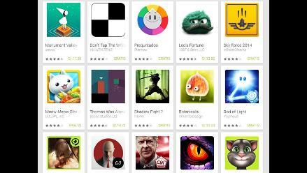Los diez mejores juegos para Android, según Google