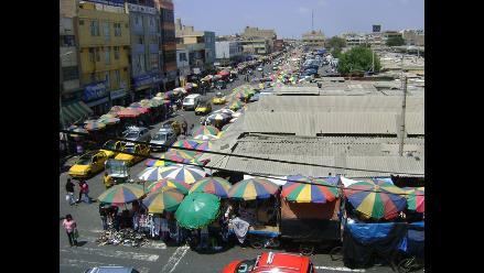 Chiclayo: comerciantes rechazan cierre de calles del mercado Modelo