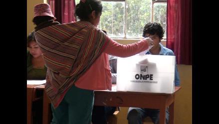 La Oroya: más de 14 mil electores acudirán a las urnas