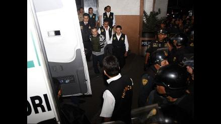 Presunto testaferro de Orellana fue trasladado a la Sala Penal Nacional