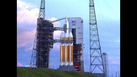 Cápsula Orion partió en su primer vuelo de prueba
