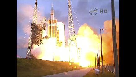 Así fue el lanzamiento de la cápsula Orión de la NASA