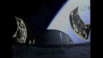 En vivo: Mira a la cápsula Orión orbitar la Tierra