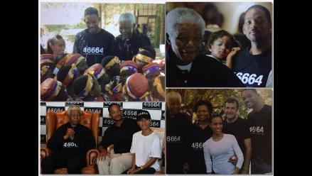 Nelson Mandela y sus amistades en Hollywood
