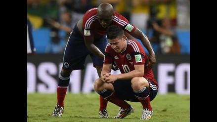 James Rodríguez: Su abuelo es herido en accidente de tránsito