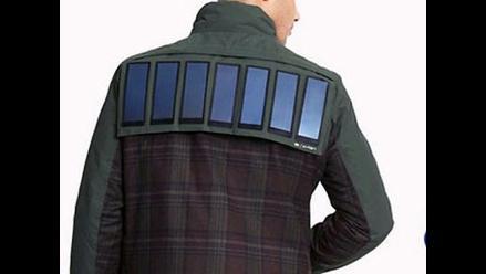 Insólito: Lanzan una chaqueta que puede recargar tu smartphone