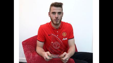 De Gea gana el premio a jugador del mes de noviembre del Manchester United