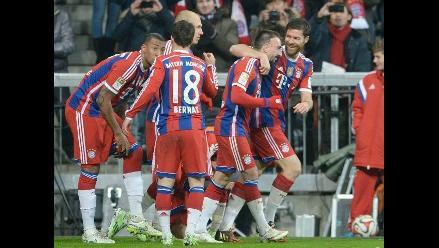 Bayern Munich superó por 1-0 a Bayer Leverkusen con gol de Franck Ribéry