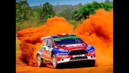 Nicolás Fuchs arrancó Rally de Misiones con tercer puesto en el primer día