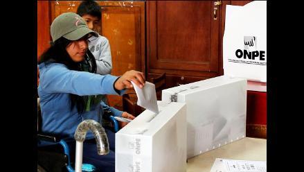 Junín: ODPE Huancayo reportó resultados al 57.190 %