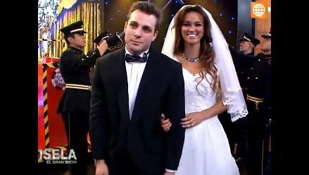 Nicola Porcella y Angie Arizaga están distanciados