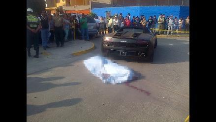 Áncash: asesinan de dos balazos a transportista