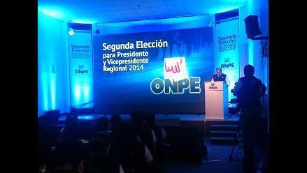 Elecciones regionales: Resultados de la segunda vuelta