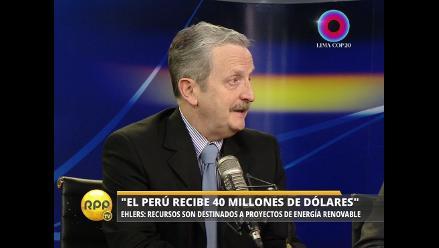 COP20: Perú recibe $ 40 millones del Fondo para el Medio Ambiente Mundial