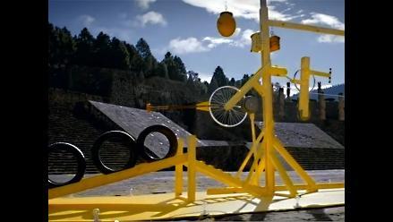 YouTube: Mira la asombrosa máquina Rube Goldberg de Nat Geo