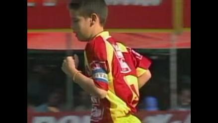 James Rodríguez y el inédito gol olímpico que anotó a los 12 años en Colombia