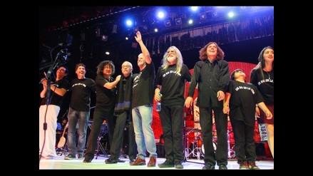 Emotivo concierto ofreció anoche la banda Un día en la vida