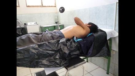 Huamachuco: niño pierde ocho dientes tras ser arrollado por mototaxi