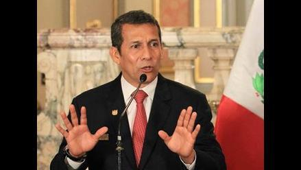 Ollanta Humala: Vilcatoma saltó conductos regulares y pidió cosas sin pruebas