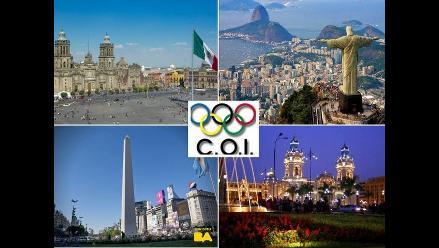 A propósito de Lima: Ciudades latinoamericanas que albergaron Sesión de COI