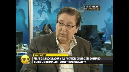 Enrique Bernales: Semánticamente, Daniel Figallo está liquidado