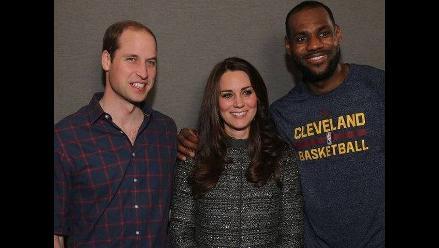 NBA: LeBron James y su ´criticado´ encuentro con la Duquesa de Cambridge