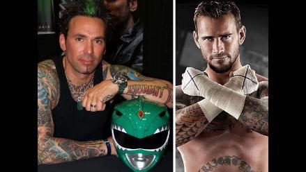 UFC: Jason David Frank, ex Power Ranger, retó a CM Punk para pelear