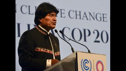 Evo Morales: Luchar contra cambio climático es acabar con capitalismo